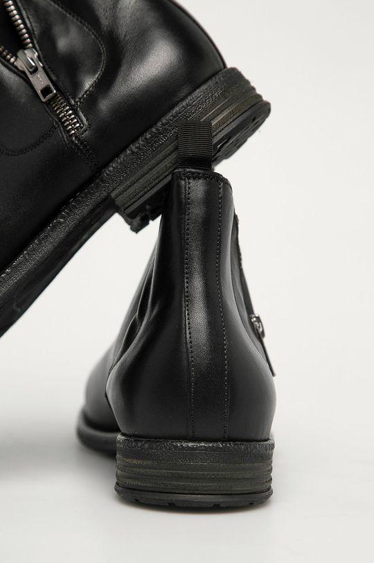 Aldo - Kožené boty Zeffrey  Svršek: Přírodní kůže Vnitřek: Textilní materiál, Přírodní kůže Podrážka: Umělá hmota