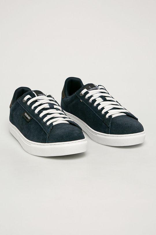 Trussardi Jeans - Buty dziecięce granatowy