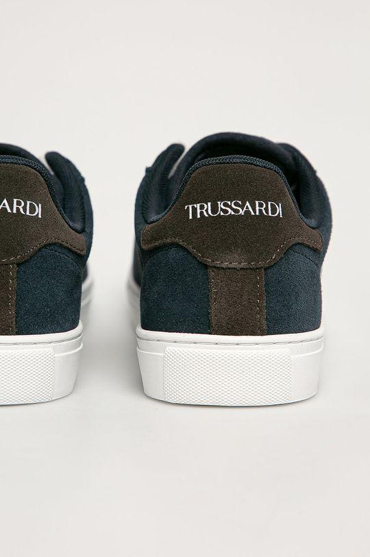 granatowy Trussardi Jeans - Buty dziecięce