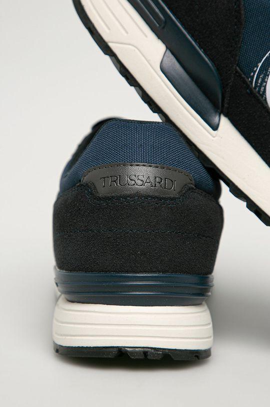 Trussardi Jeans - Boty  Svršek: Umělá hmota, Textilní materiál, Semišová kůže Vnitřek: Textilní materiál Podrážka: Umělá hmota