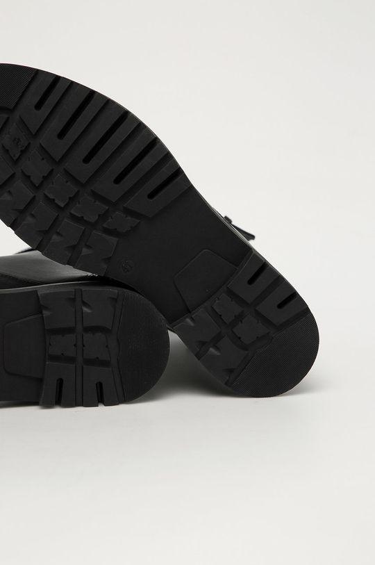 černá Trussardi Jeans - Kožené boty