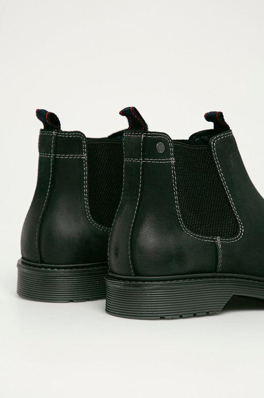 Jack & Jones - Semišové kotníkové boty  Svršek: Semišová kůže Vnitřek: Textilní materiál Podrážka: Umělá hmota