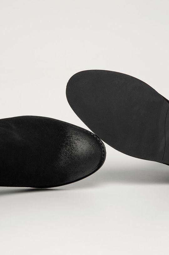 černá Jack & Jones - Boty s gumou
