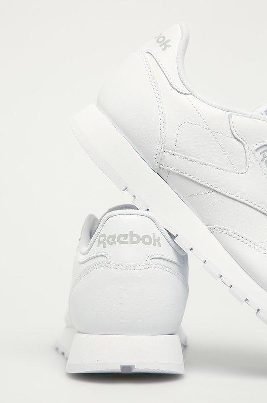 bílá Reebok Classic - Kožené boty Cl LTHR