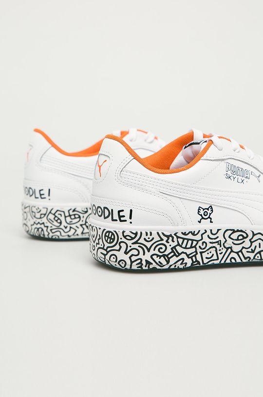 Puma - Topánky x MR Doodle Sky LX Low  Zvršok: Syntetická látka, Prírodná koža Vnútro: Textil Podrážka: Syntetická látka