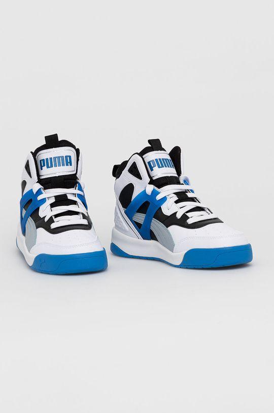 Puma - Topánky Backcourt Mid modrá