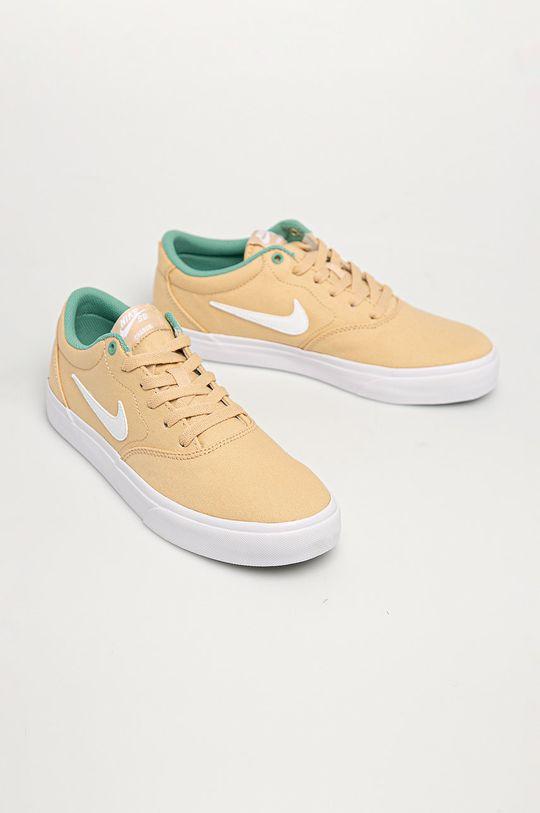 Nike Sportswear - Buty SB Charge Canvas pszeniczny