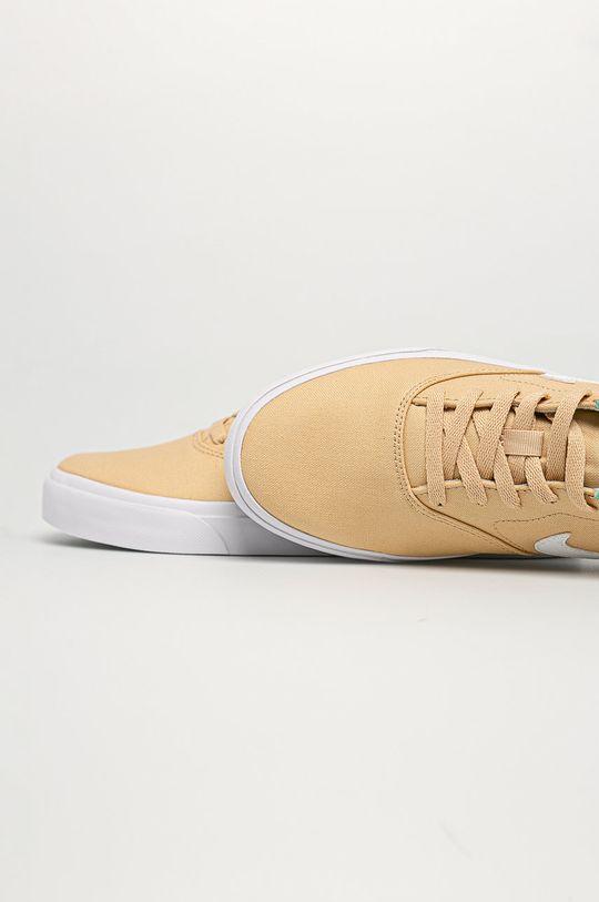 pszeniczny Nike Sportswear - Buty SB Charge Canvas
