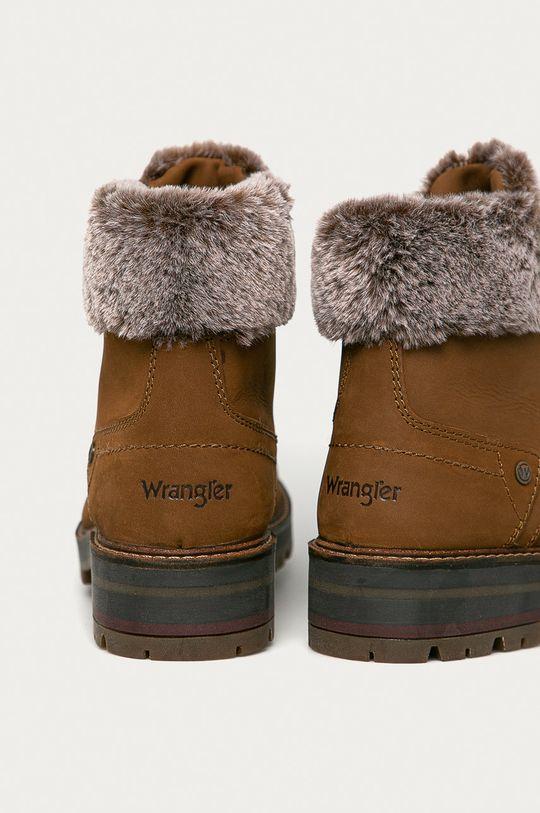Wrangler - Kožené boty  Svršek: Přírodní kůže Vnitřek: Textilní materiál Podrážka: Umělá hmota