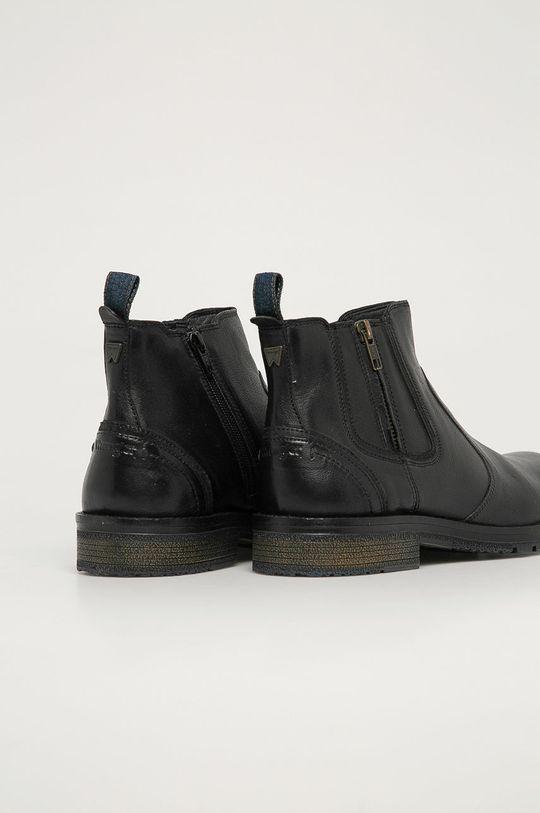 Wrangler - Kožené boty  Svršek: Přírodní kůže Vnitřek: Textilní materiál, Přírodní kůže Podrážka: Umělá hmota