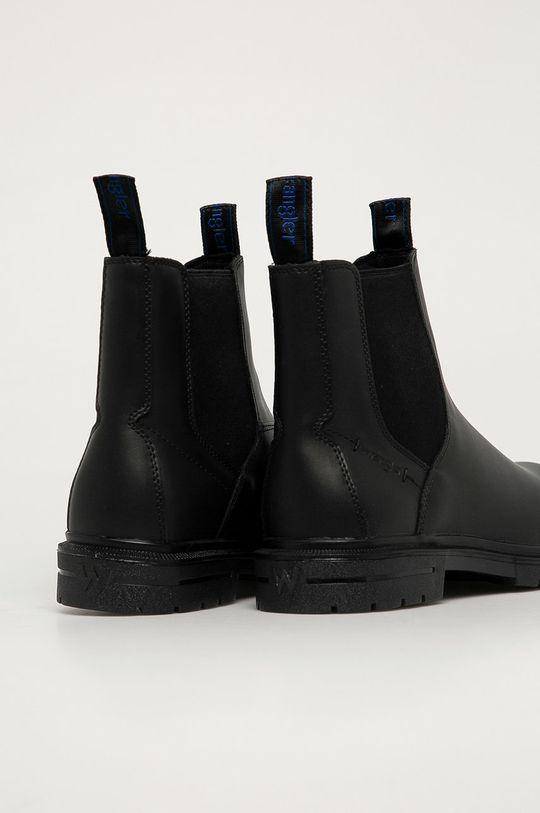 Wrangler - Kožené kotníkové boty  Svršek: Přírodní kůže Vnitřek: Textilní materiál Podrážka: Umělá hmota