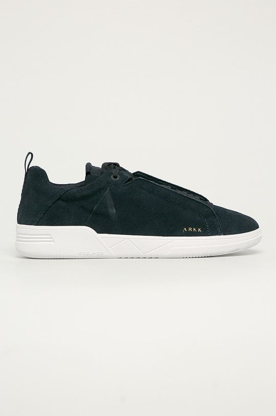 tmavomodrá Arkk Copenhagen - Kožená obuv Pánsky