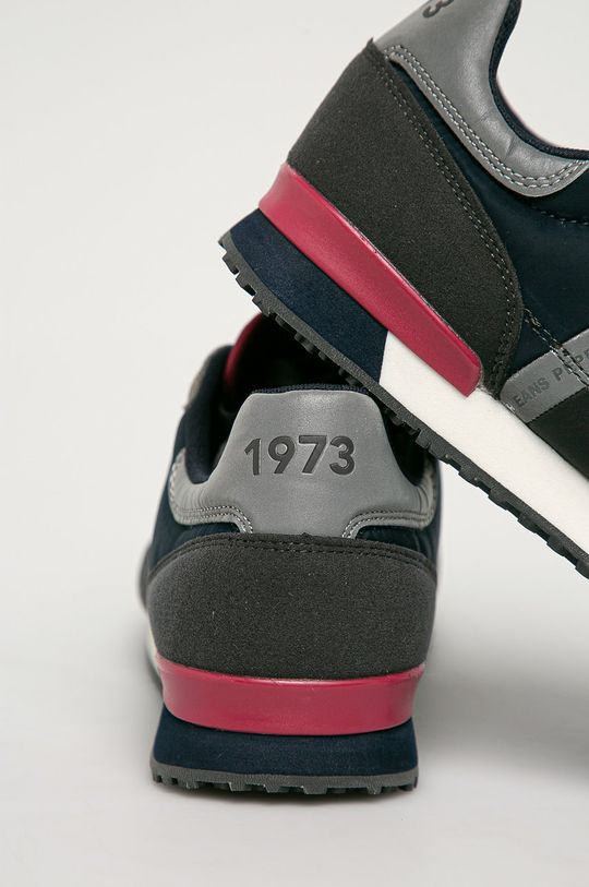 Pepe Jeans - Pantofi Tinker Zero Second  Gamba: Material sintetic, Material textil, Piele naturala Interiorul: Material textil Talpa: Material sintetic