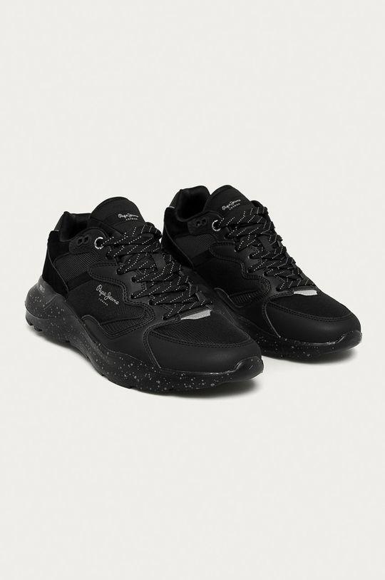Pepe Jeans - Pantofi Brooks Multi negru
