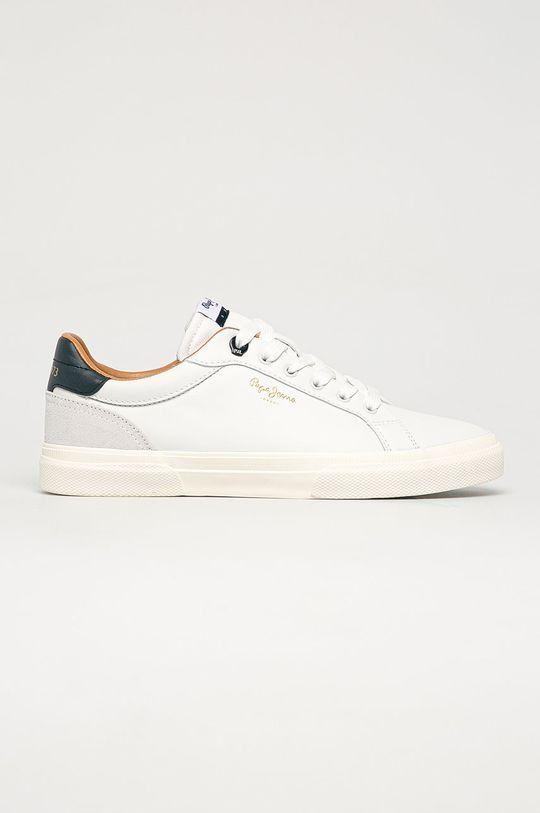 biela Pepe Jeans - Topánky Kenton Classic Pánsky