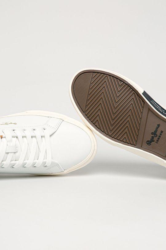 biela Pepe Jeans - Topánky Kenton Classic