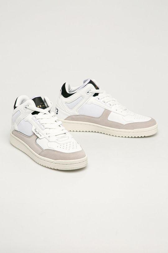 Pepe Jeans - Buty Kurt Basket biały