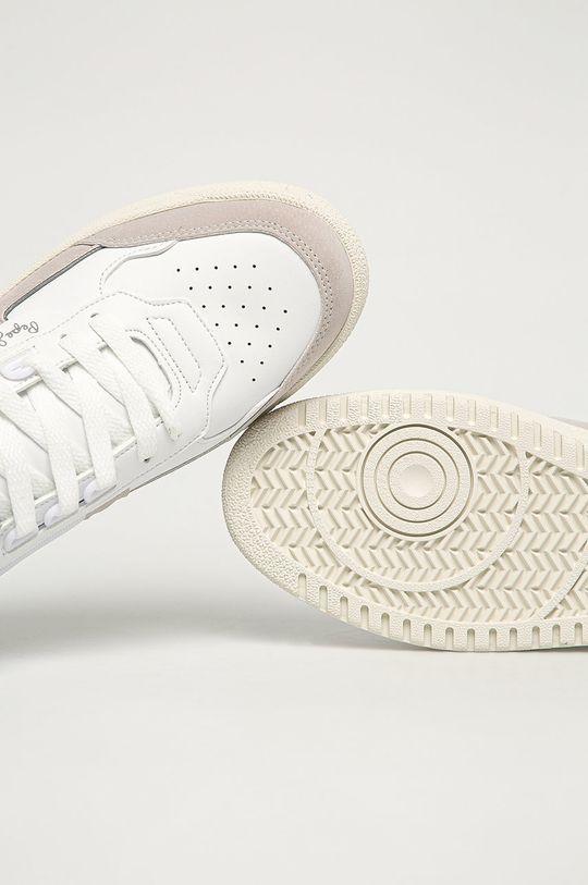 biały Pepe Jeans - Buty Kurt Basket