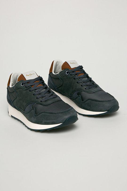 Pepe Jeans - Pantofi Slab Urban bleumarin