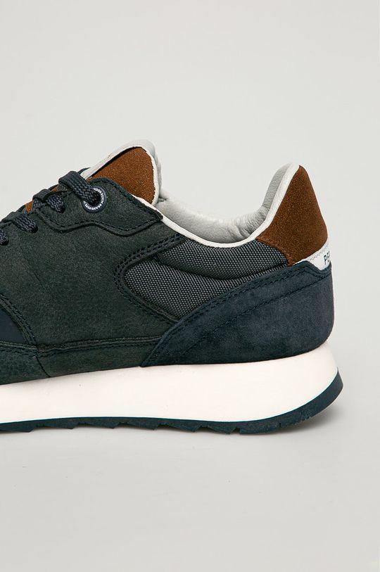 Pepe Jeans - Pantofi Slab Urban  Gamba: Material textil, Piele naturala Interiorul: Material textil Talpa: Material sintetic