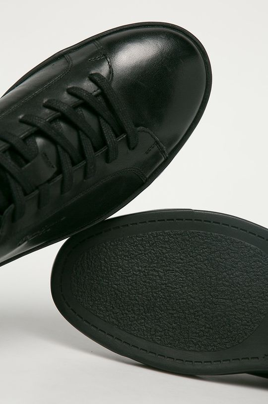 čierna Pepe Jeans - Kožená obuv DOC LTH