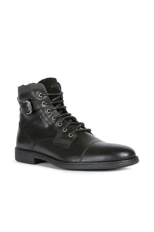 Geox - Kotníkové boty černá