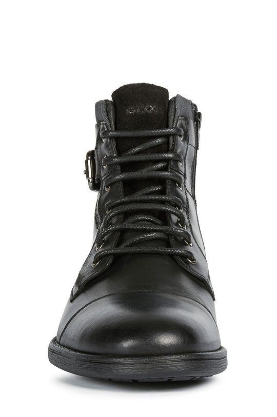 Geox - Kotníkové boty  Svršek: Hovězí useň Vnitřek: Umělá hmota, Textilní materiál Podrážka: Umělá hmota