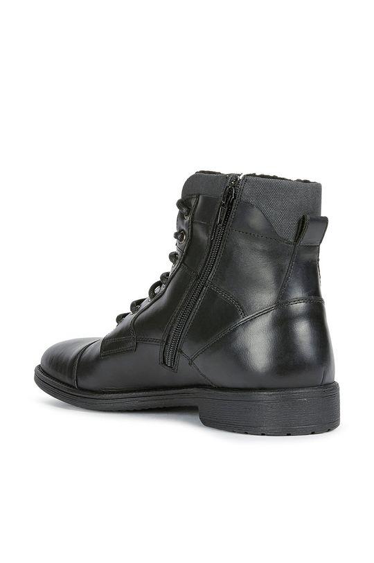 černá Geox - Kotníkové boty