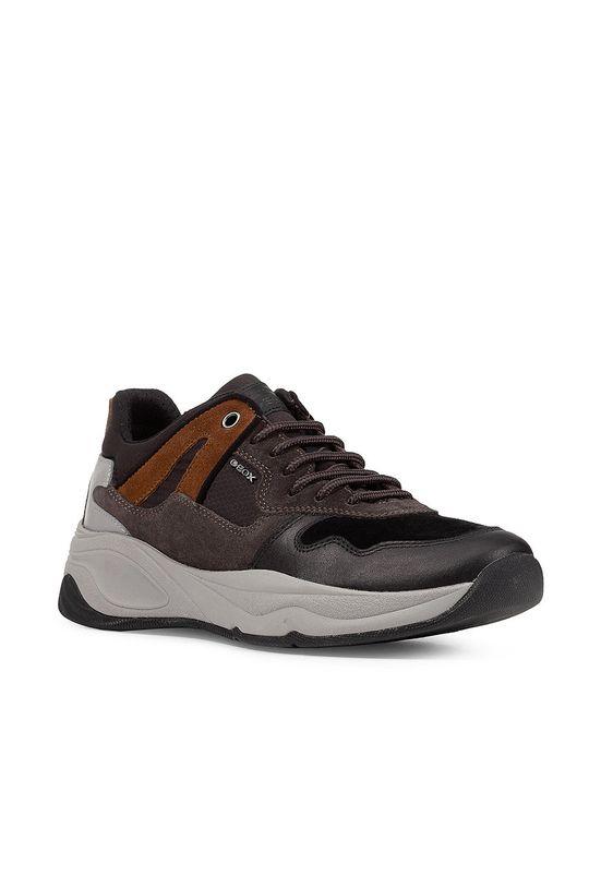 Geox - Topánky Tortona čierna