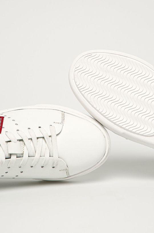 белый s. Oliver - Детские кожаные кроссовки