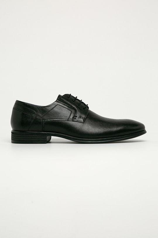 negru s. Oliver - Pantofi de piele De bărbați