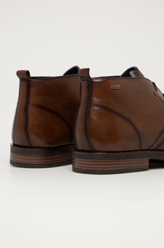 s. Oliver - Kožená obuv  Zvršok: Prírodná koža Vnútro: Textil, Prírodná koža Podrážka: Syntetická látka