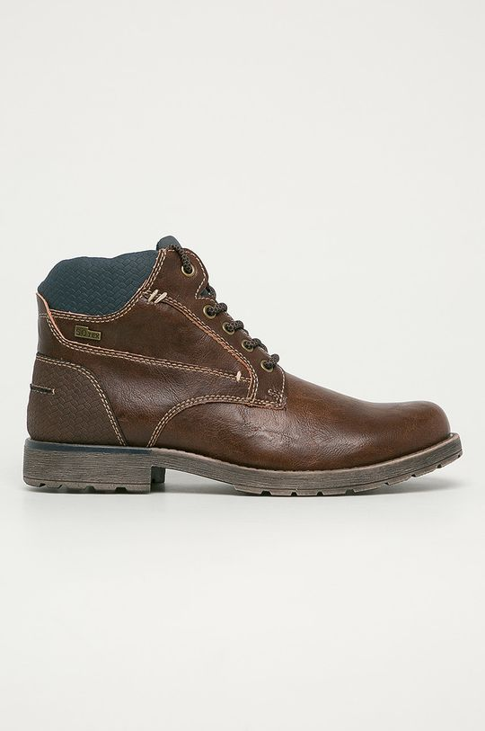 maro inchis s. Oliver - Pantofi De bărbați