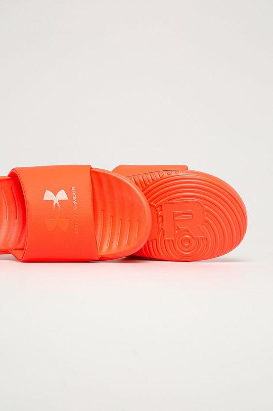 Under Armour - Pantofle  Svršek: Umělá hmota Vnitřek: Umělá hmota, Textilní materiál Podrážka: Umělá hmota