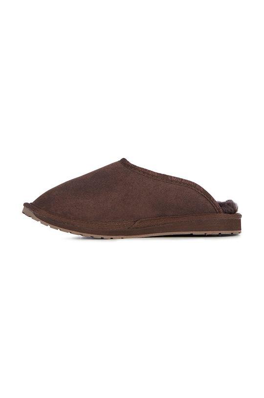 ciemny brązowy Emu Australia - Kapcie zamszowe Platinum Esperence