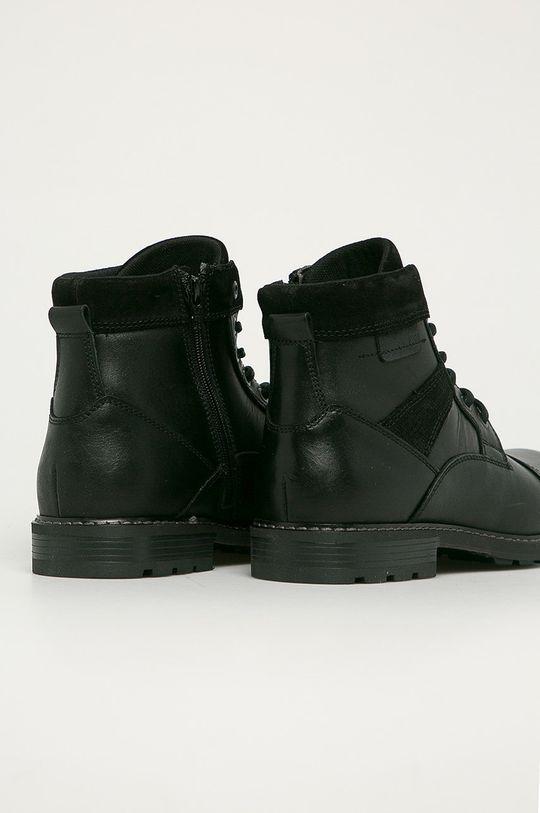 Aldo - Kožené boty Lovenarwen  Svršek: Přírodní kůže Vnitřek: Textilní materiál Podrážka: Umělá hmota