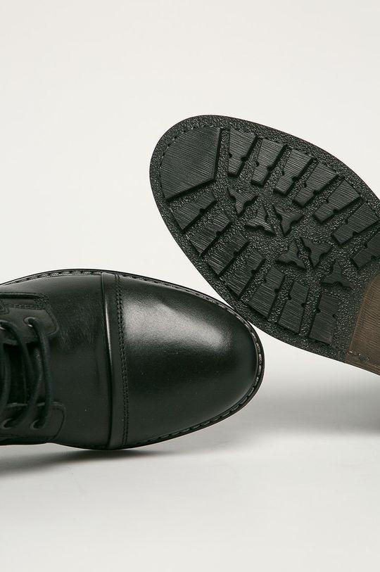 černá Aldo - Kožené boty Lovenarwen