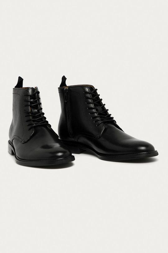 Aldo - Kožené boty Mirenarwen černá
