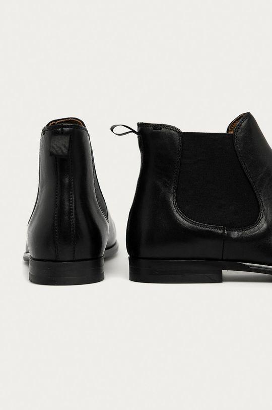 Aldo - Kožené kotníkové boty  Svršek: Přírodní kůže Vnitřek: Textilní materiál, Přírodní kůže Podrážka: Umělá hmota