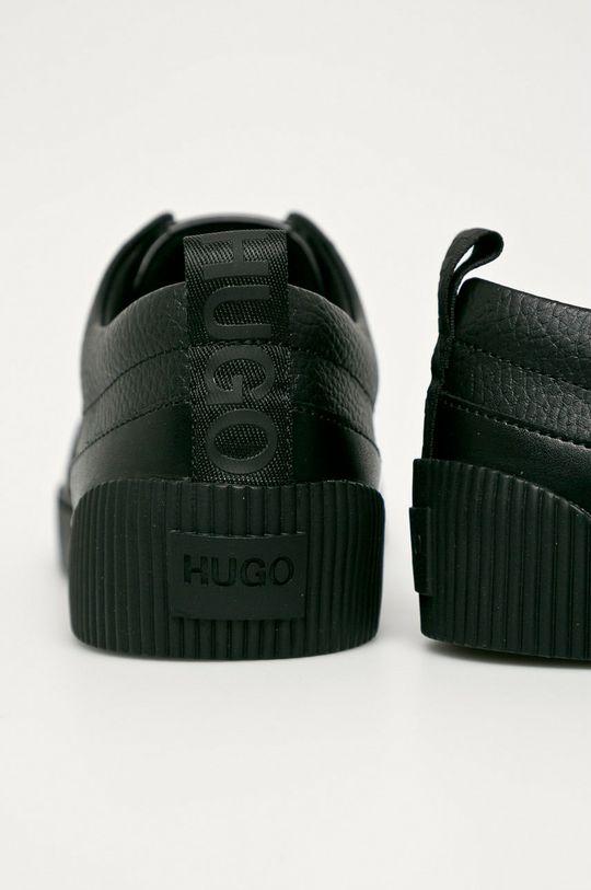 Hugo - Bőr cipő  Szár: természetes bőr Belseje: szintetikus anyag, textil Talp: szintetikus anyag