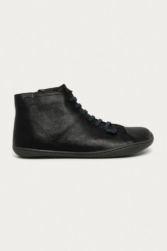 čierna Camper - Kožená obuv Peu Cami Pánsky