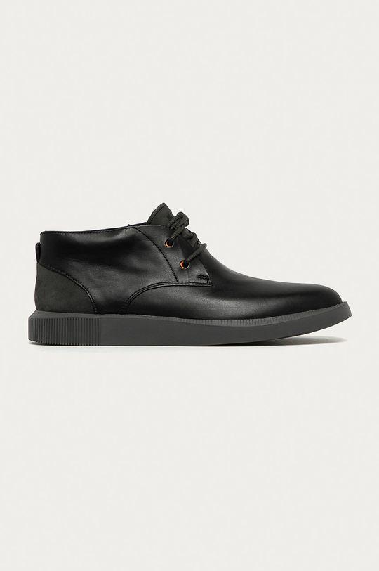 negru Camper - Pantofi de piele Bill De bărbați