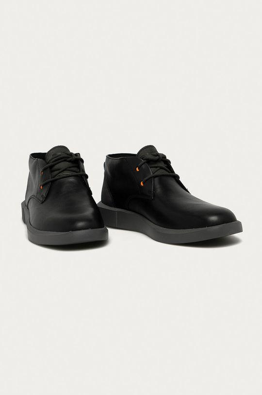 Camper - Pantofi de piele Bill negru