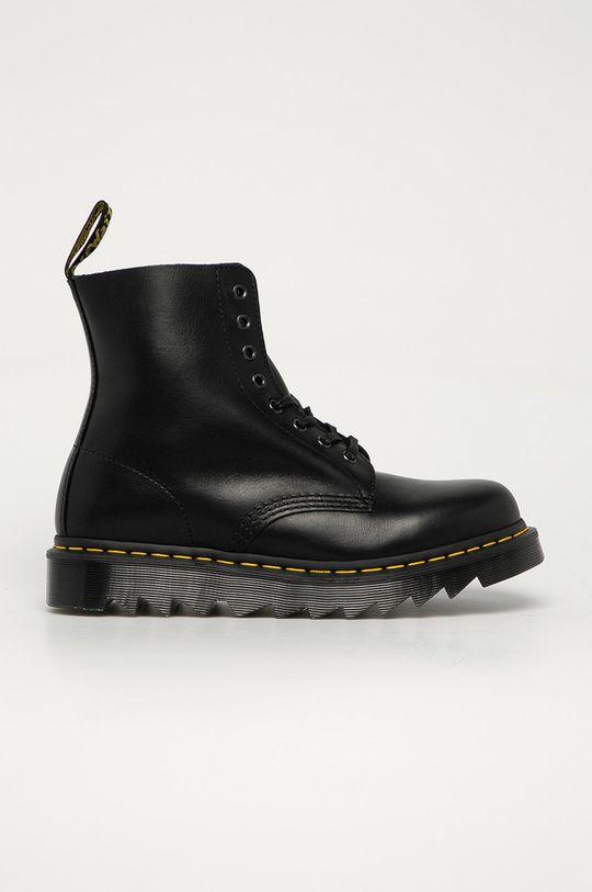 černá Dr. Martens - Kožené boty 1460 Pascal Ziggy Pánský