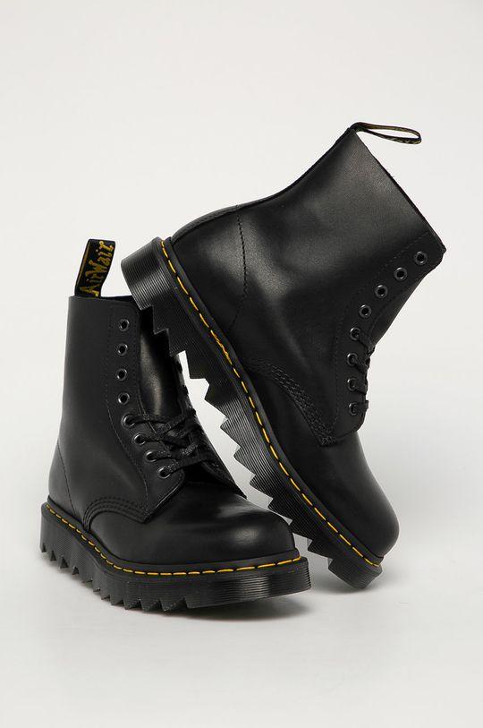 Dr. Martens - Kožené boty 1460 Pascal Ziggy černá