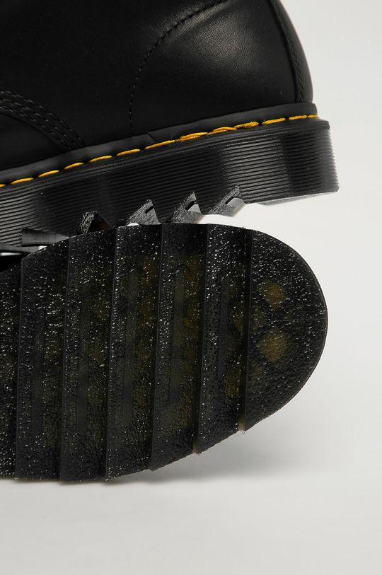 černá Dr. Martens - Kožené boty 1460 Pascal Ziggy