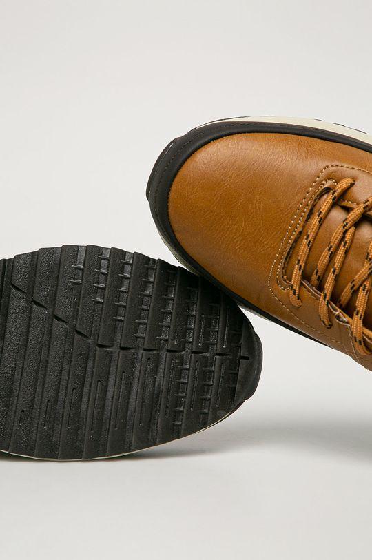 zlatohnedá Big Star - Členkové topánky GG174561