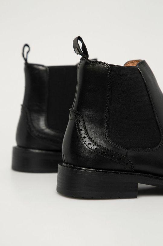 Big Star - Kožené kotníkové boty  Svršek: Přírodní kůže Vnitřek: Umělá hmota Podrážka: Umělá hmota