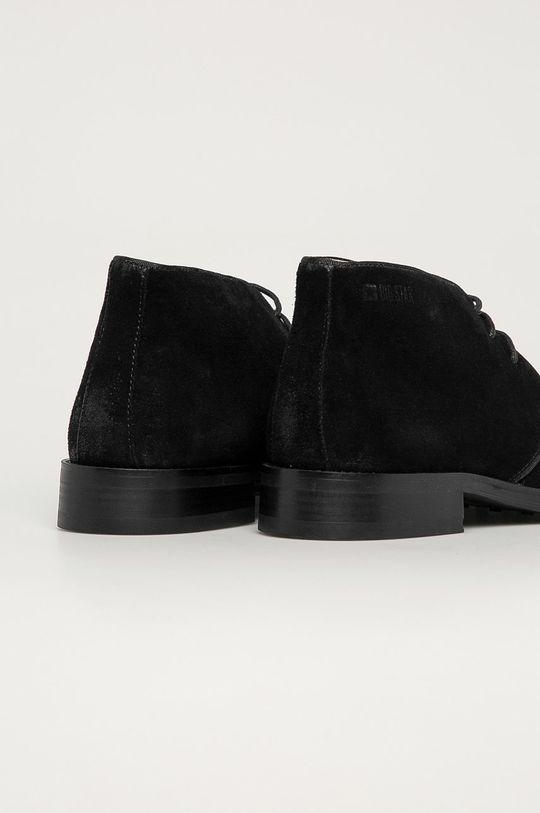 Big Star - Pantofi de piele intoarsa  Gamba: Piele intoarsa Interiorul: Piele naturala Talpa: Material sintetic