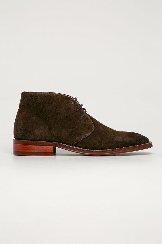 maro Big Star - Pantofi de piele intoarsa De bărbați